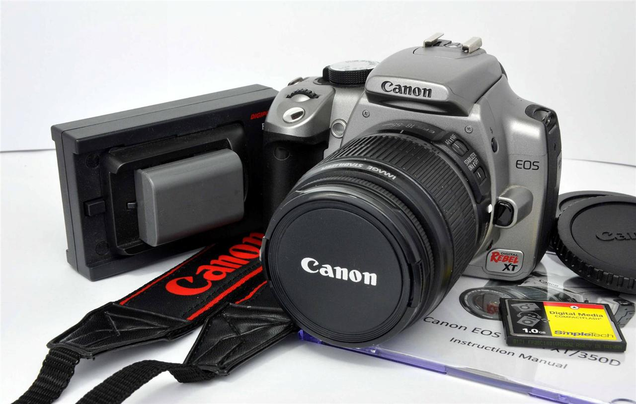 canon eos 350d instruction manual