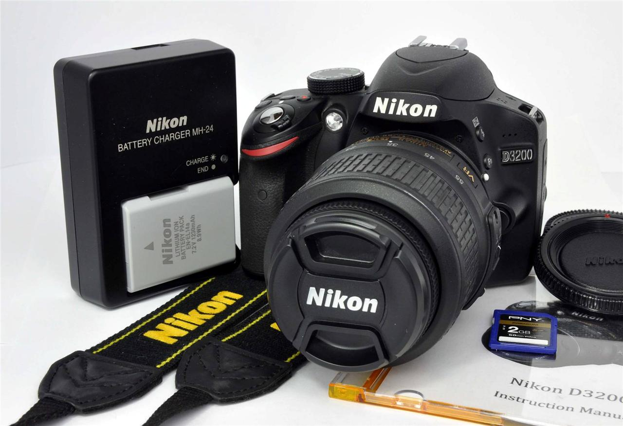nikon d3200 instruction manual