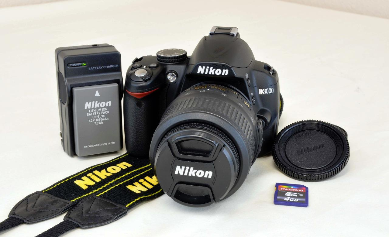 nikon d3000 instruction manual