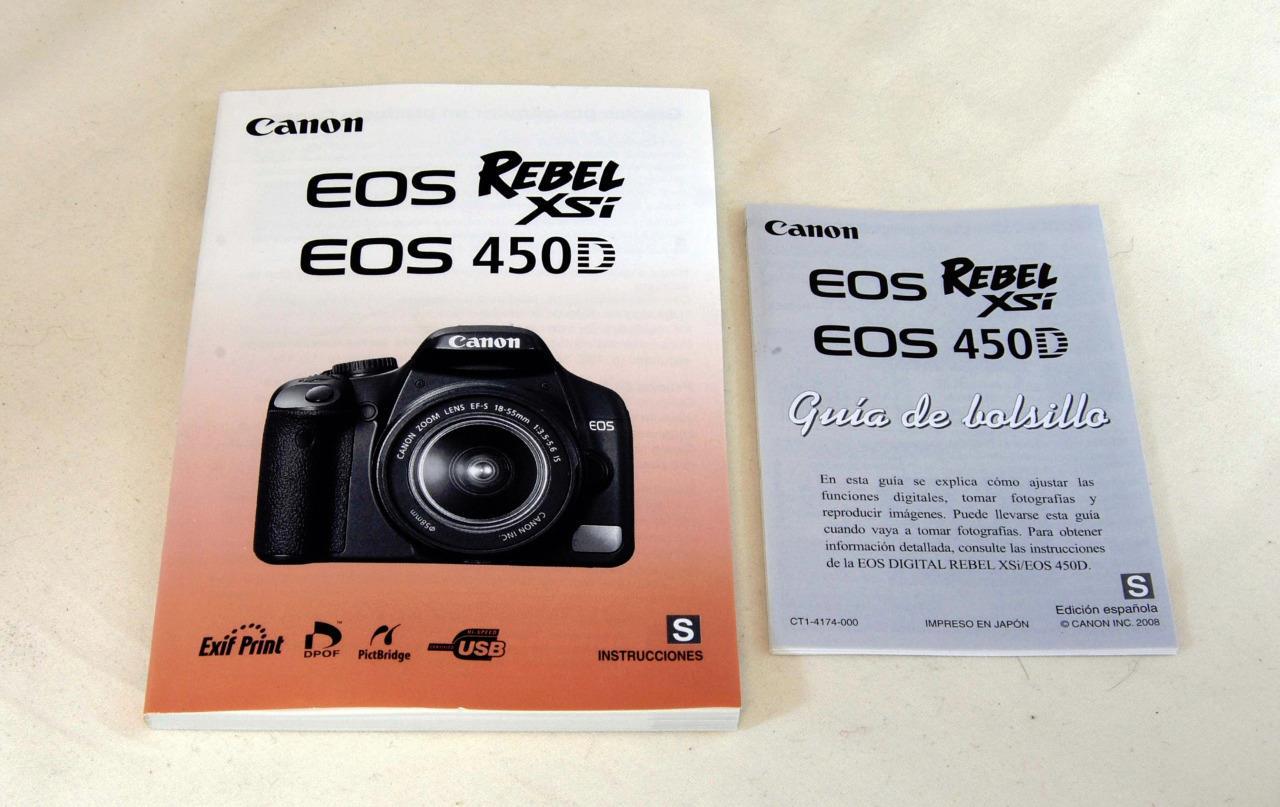 Canon EOS Rebel G Manuals