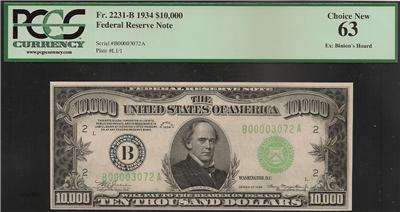 New 10000 Dollar Bill $10,000 TEN THO...