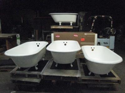 5 foot cast iron bathtub