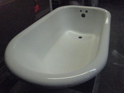 4 1 2 FOOT CAST IRON CLAWFOOT BATHTUB PROFESSIONALLY RESTORED BATH TUB EBay