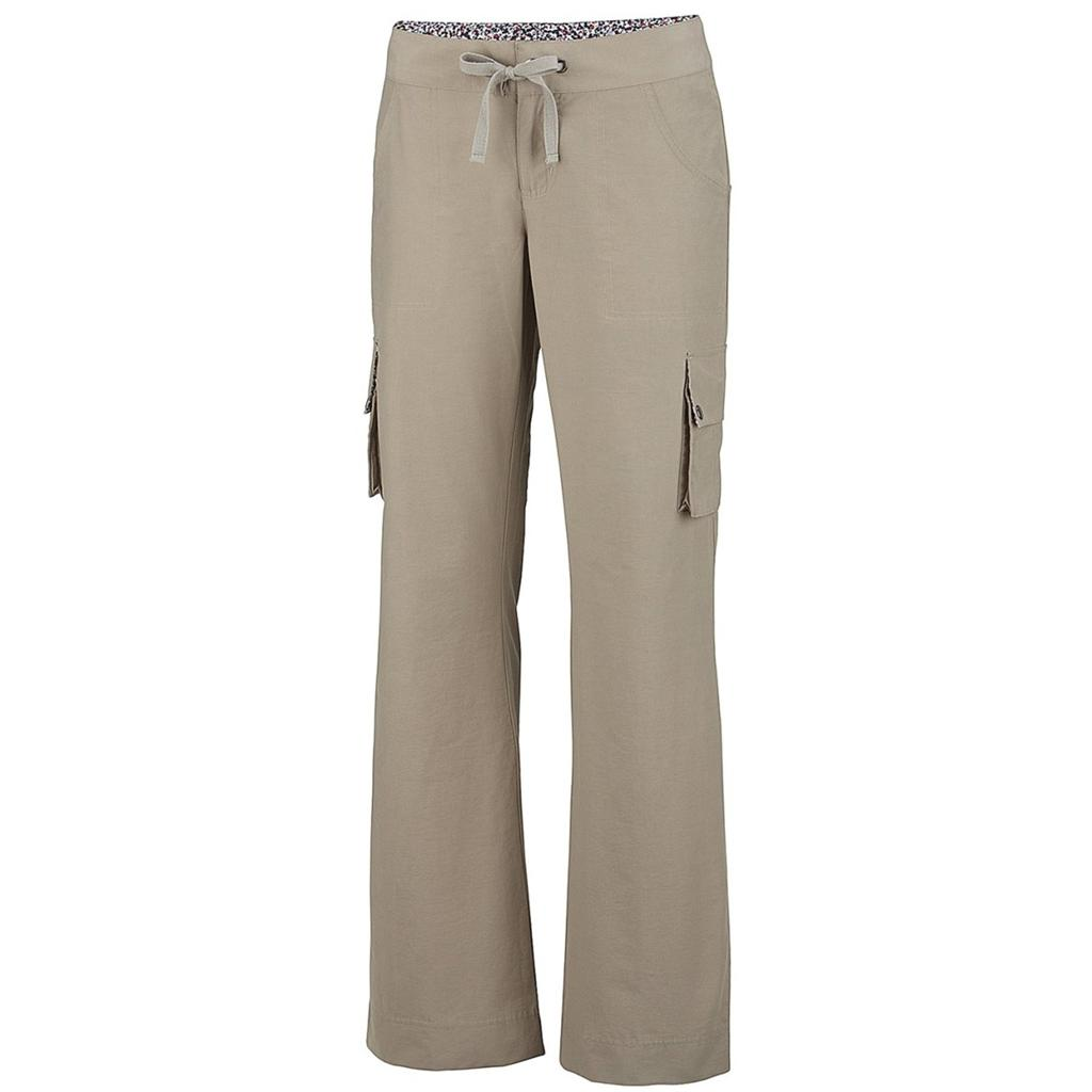 New Womens Long Cargo Pants