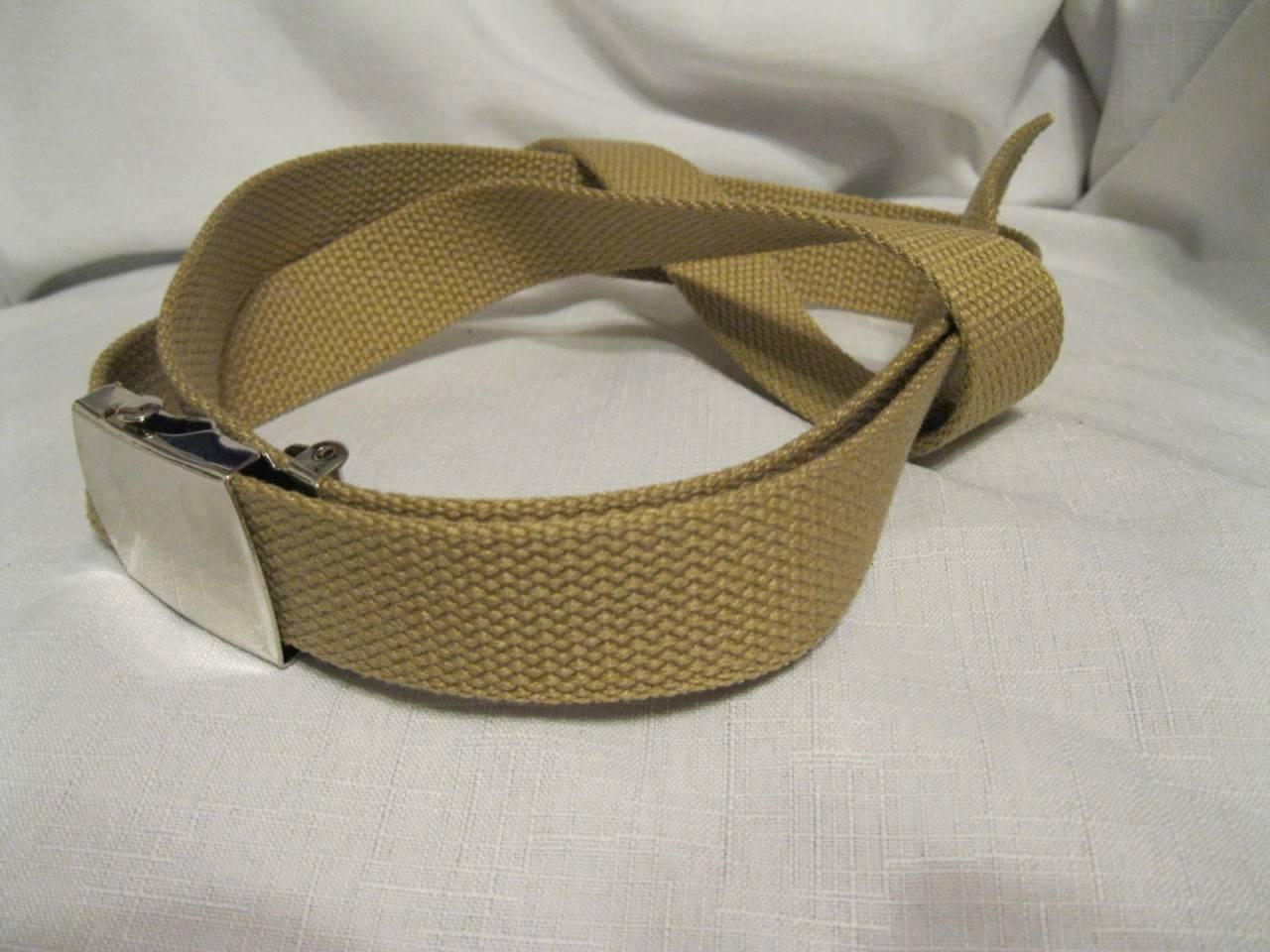 style cotton web belt w buckle brown blue black