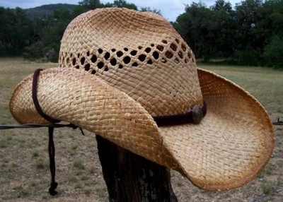 how to make a chin strap for a cowboy hat