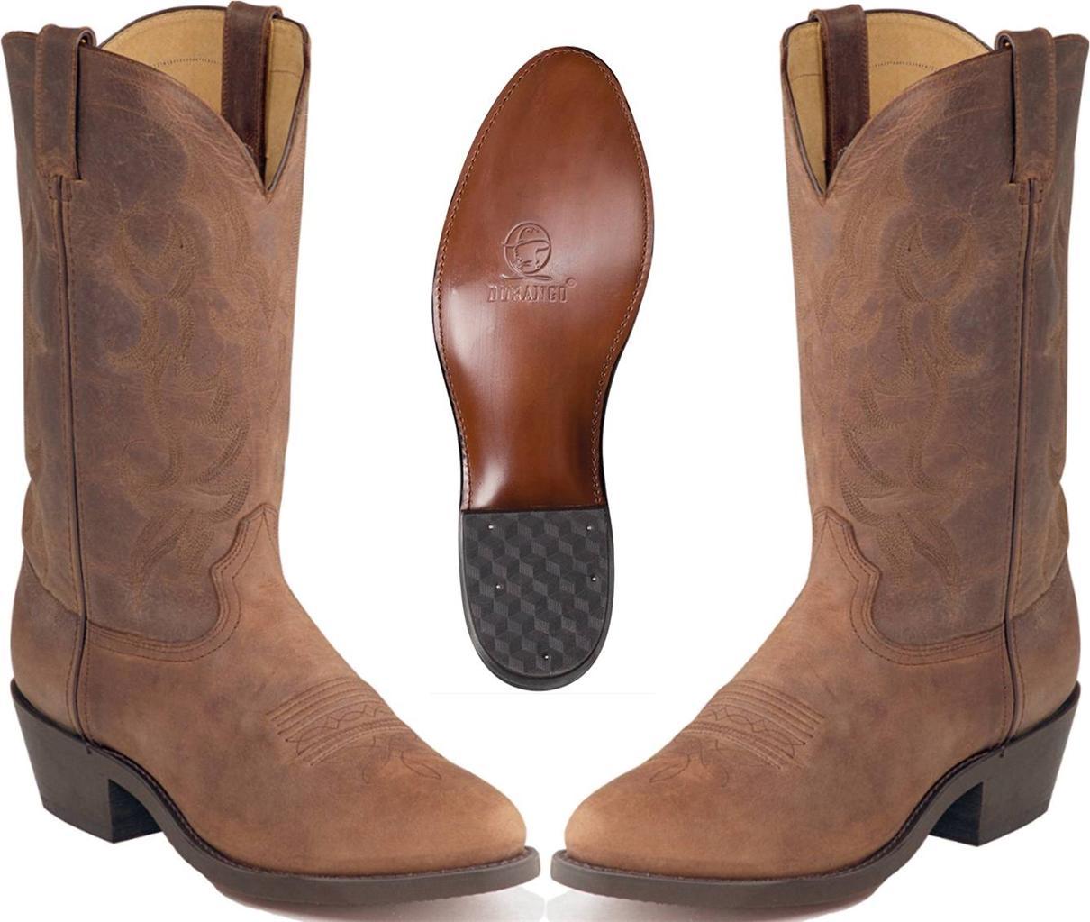 new durango s soft 12 quot leather western cowboy