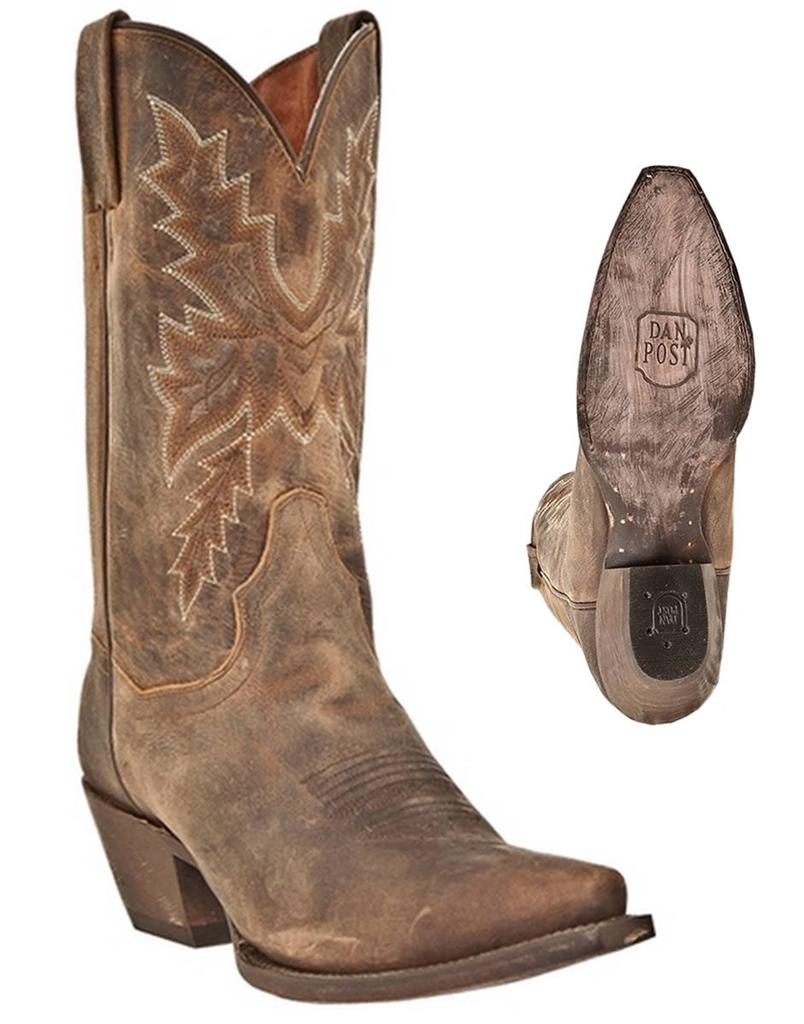 new dan post s cecilia bay apache distressed leather