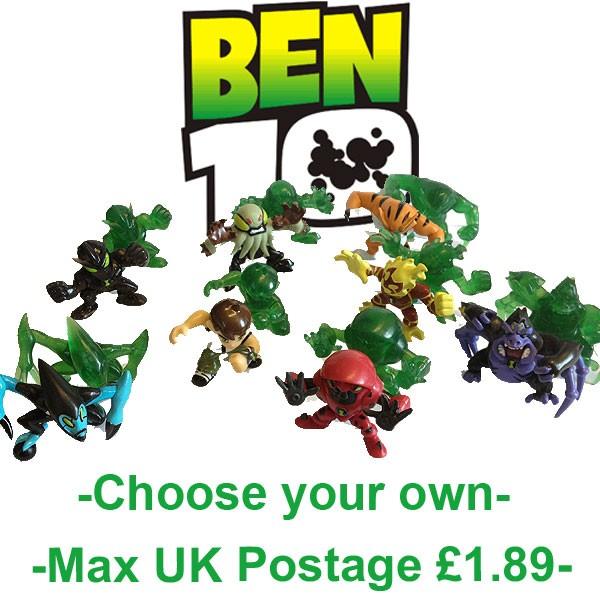 Mini Ben Ben 10 Mini Figures