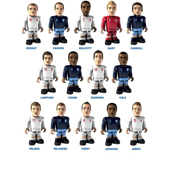 New Character Building Topps Fa Player Football Figures