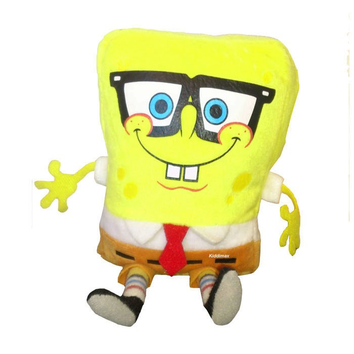 Toys For Geeks : New spongebob squarepants inch soft plush bean toy