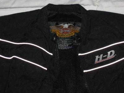 Harley Davidson Black Riding Jacket Coat Womens Small