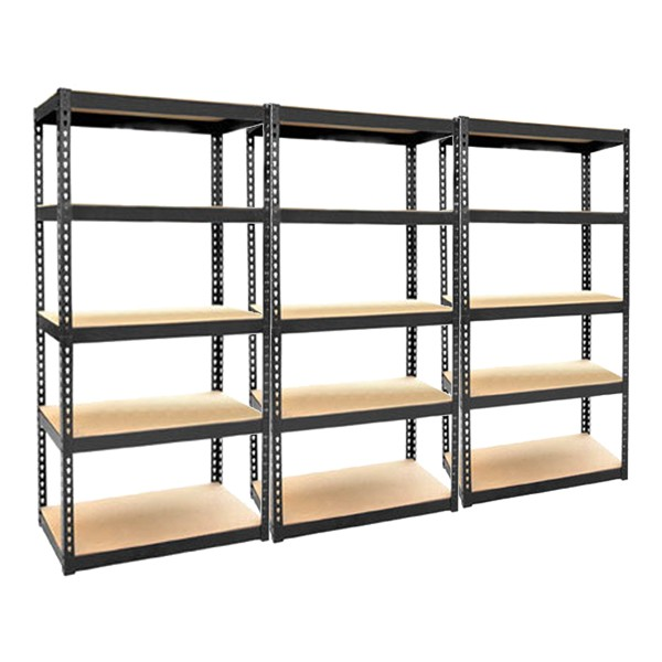 heavy duty 5 tier storage units garage shelving metal. Black Bedroom Furniture Sets. Home Design Ideas