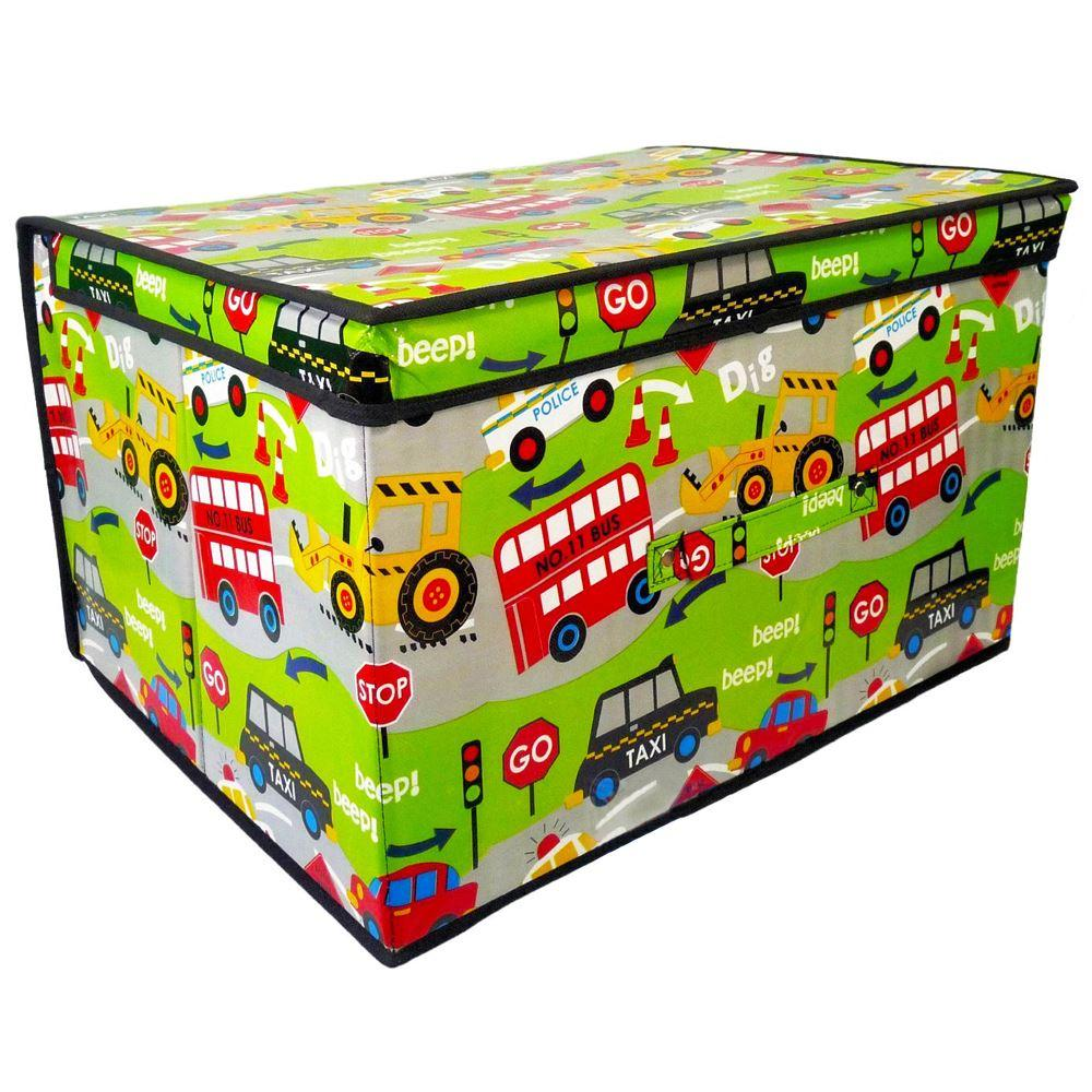 Livememory Cars Kids Toy Storage BoxW/ Free Priority Australian postage + Cheapest in Aus ★Toy Car Storage Box for Kids★: This toy storage bin is designed for storage, which can help you store toys easily to keep away of messy.