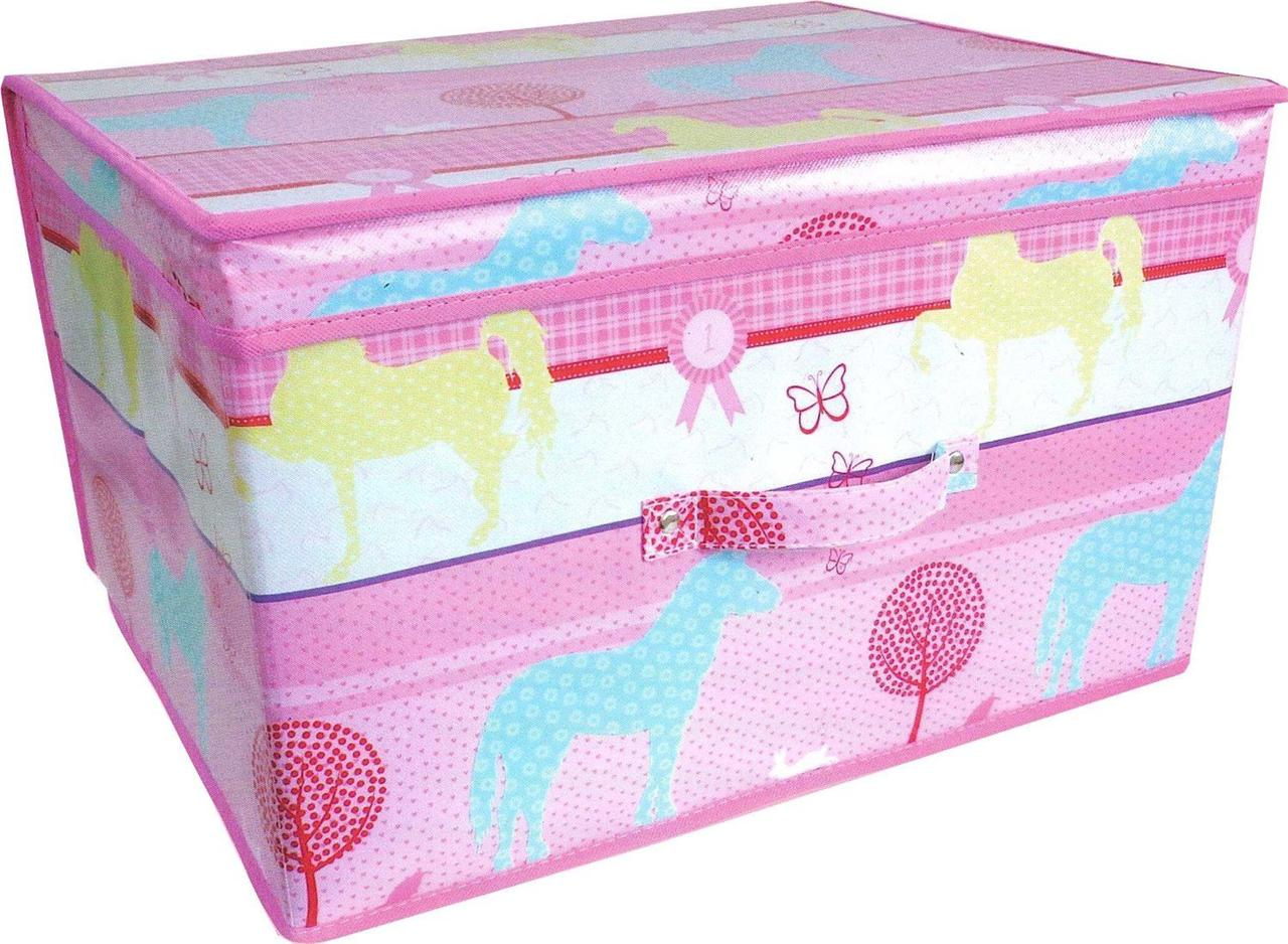 Toy Boxes For Girls : Kids storage boxes boys girls toy box children s laundry