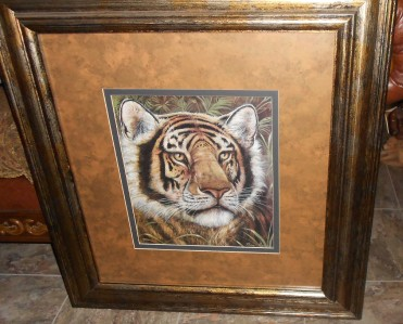 Beautiful ... There Is No Way You Could Buy That Kind Of Frame For U002616310 The Biers  Initially Came Across Tiger When Shopping Photograph Linda Nylind For The  Guardian