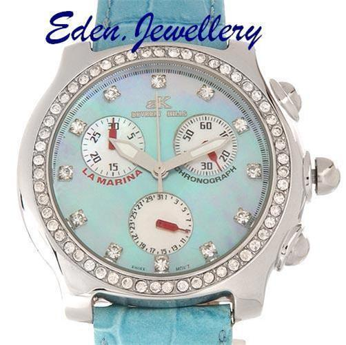 Designer-ADEE-KAYE-La-Marina-Ladies-Chronograph-Watch