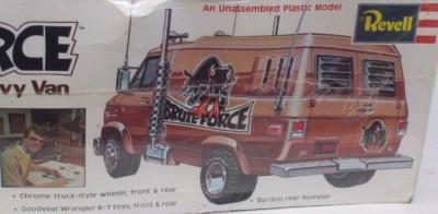 Chevy Van Brute Force Big Rig Revell SEALED Vtg 70's 1 25 Model Kit H 1394