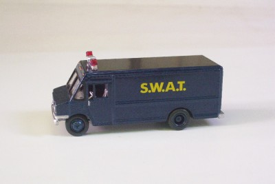 Toy Swat Trucks http://www.ebay.com/itm/SWAT-TEAM-Van-Truck-BLUE-Johnny-Lightning-LE-1-64-Truck-Police-LEO-/251058802146