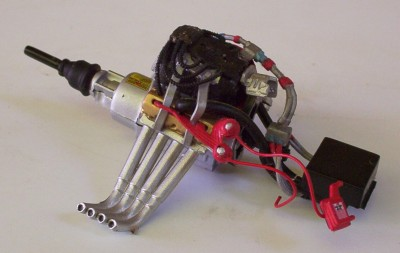 Blown Drag Motor Only Funny Car Engine 1 24 Used Junkyard Diecast Car Parts A85