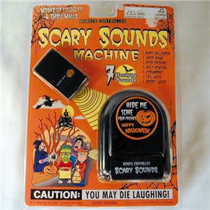 scary sounds machine