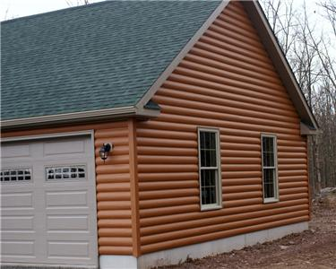 Log siding vinyl 20 square ebay Siding square