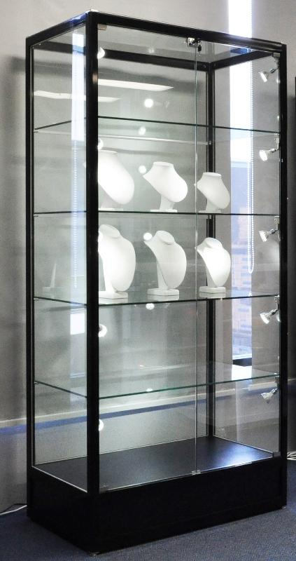 Glass Display Cabinet With Spot Lights.Commercial Or Residential ...