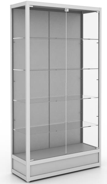 New Upright Glass Display Cabinet, No Lights.Flat Packed For ...