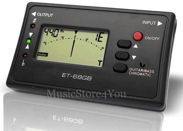 "1.3"" LED Display Tuner for Saxophone/Trumpet - Black (1 x CR2032 ..."