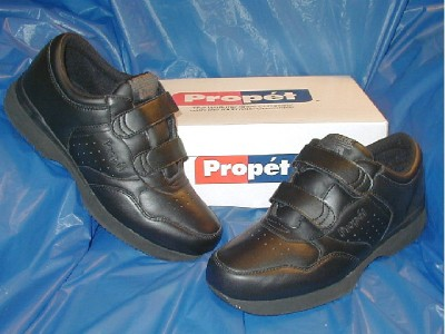 propet m3705 mens dual walking shoe black 9 1 2 xx