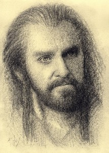Details about Thorin Oakenshield The Hobbit Hand Drawn Drawing Fantasy
