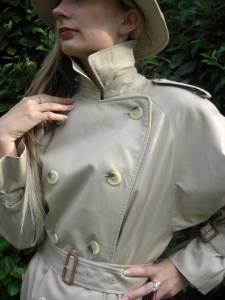 938c8932719e Fab New Ladies Burberry Trench Coat Mac Raincoat UK US 12 14 16 F