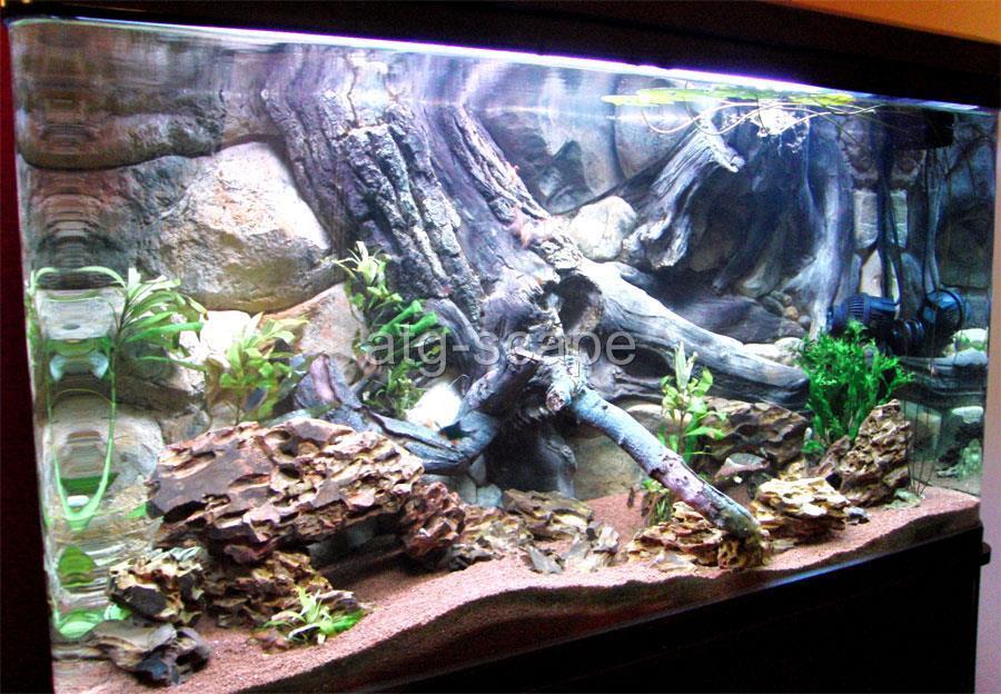 Aquarium Background 3d Amazon For 30g Tank Size 36x16