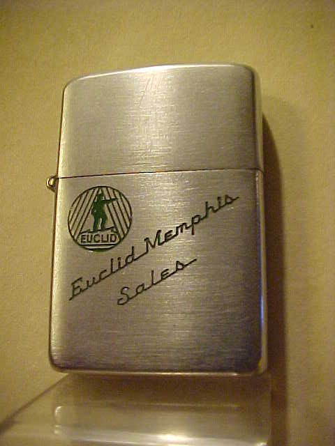 203-Patent-1949-Zippo-Lighter-Euclid-Heavy-Equipment-Co-Excellent