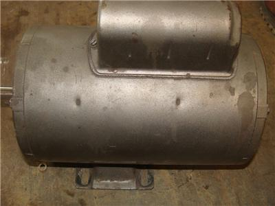 Doerr Emerson Electric 5hp Compressor Motor 3450 Rpm 230