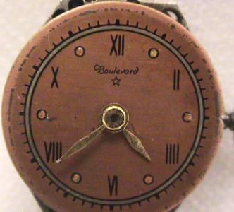 WATCH 17 JEWEL SWISS COLOMBY 14K SOLID ROSE GOLD LAPWELL CASE