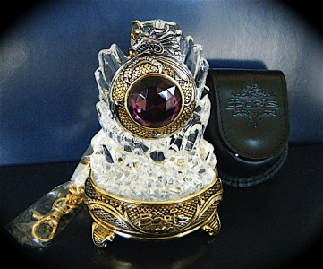 Charles-Hubert, Paris 3578 Gold-Plated Pocket Watch Stand