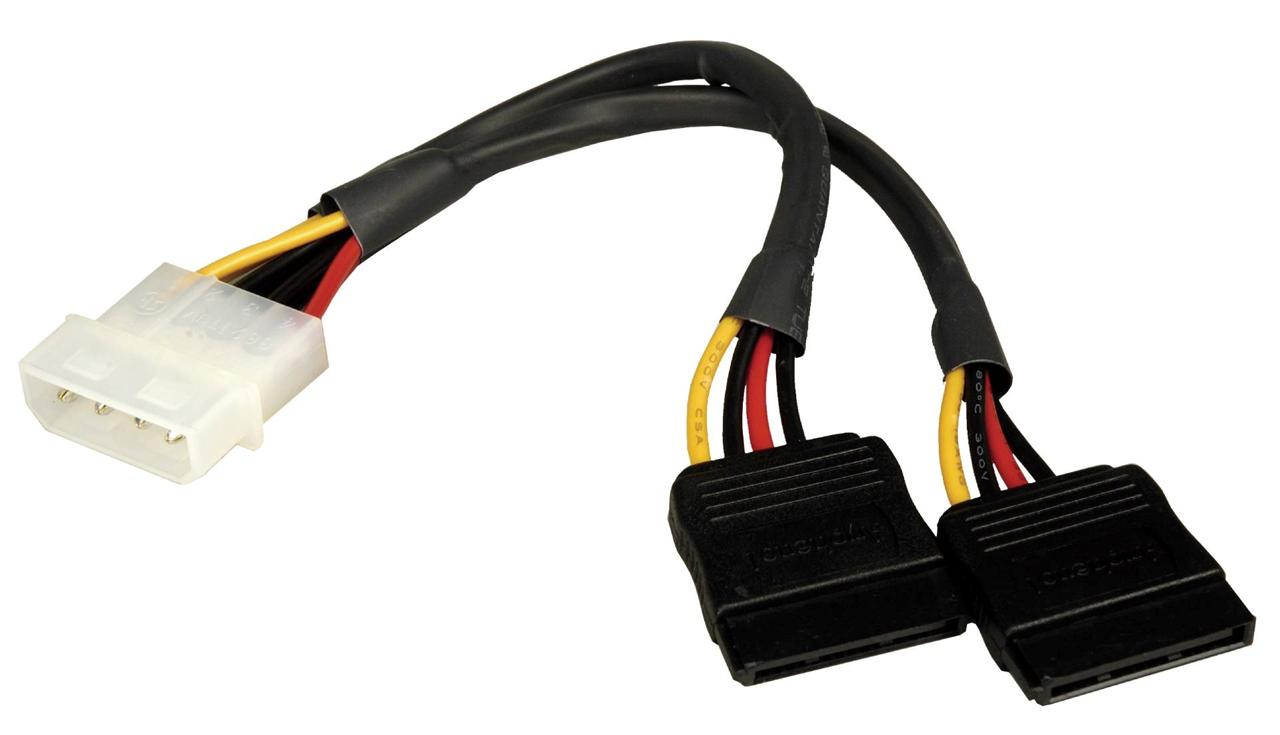 5 Pin Connector Cable : Internal quot pin power to dual sata