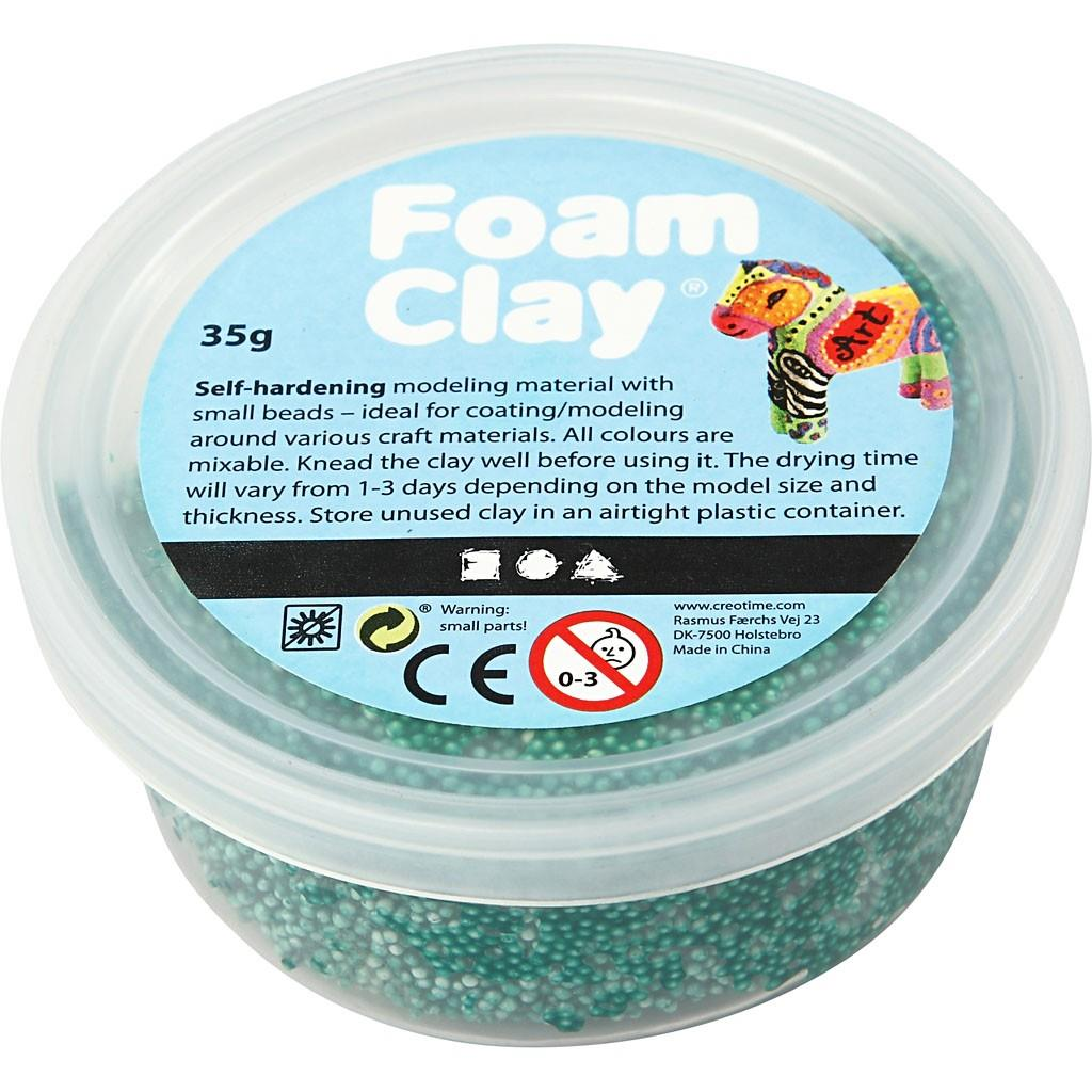 Foam Clay Assorted Colour Modelling Material Tubs With Small Beads ...