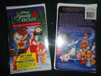 beauty and the beast an enchanted christmas vhs 1997 brand
