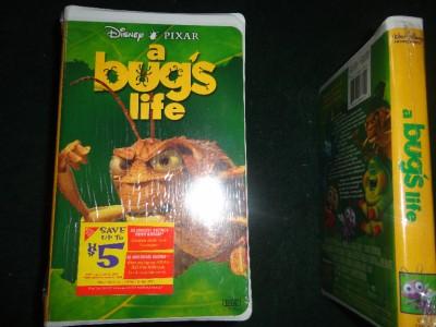 Disney s A Bug s Life Movie  A Bugs Life Vhs