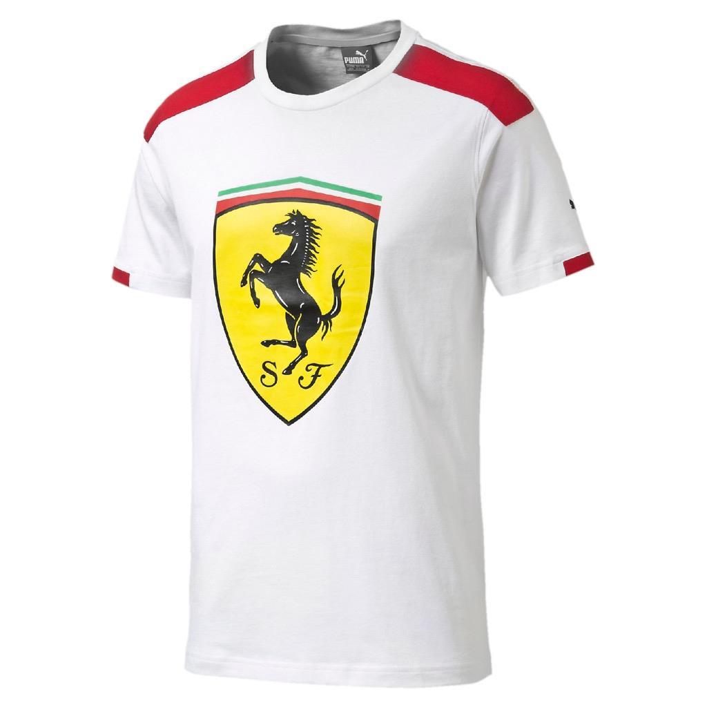 short shirts sleeve girls scuderia en no shirt ferrari official logo online t with for store shield f unisex