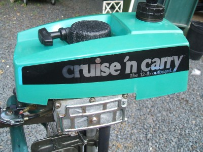 1.5 hp Cruise n Carry 6600 outboard boat motor for sale