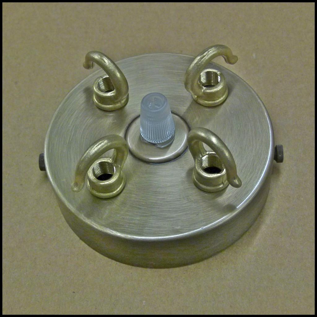 Chandelier antique 3 4 way triple quad brass hook plate cap ceiling chandelier antique 3 4 way triple quad brass arubaitofo Gallery