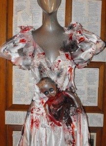 princess ballgown halloween costume zombie bride wedding dress ebay