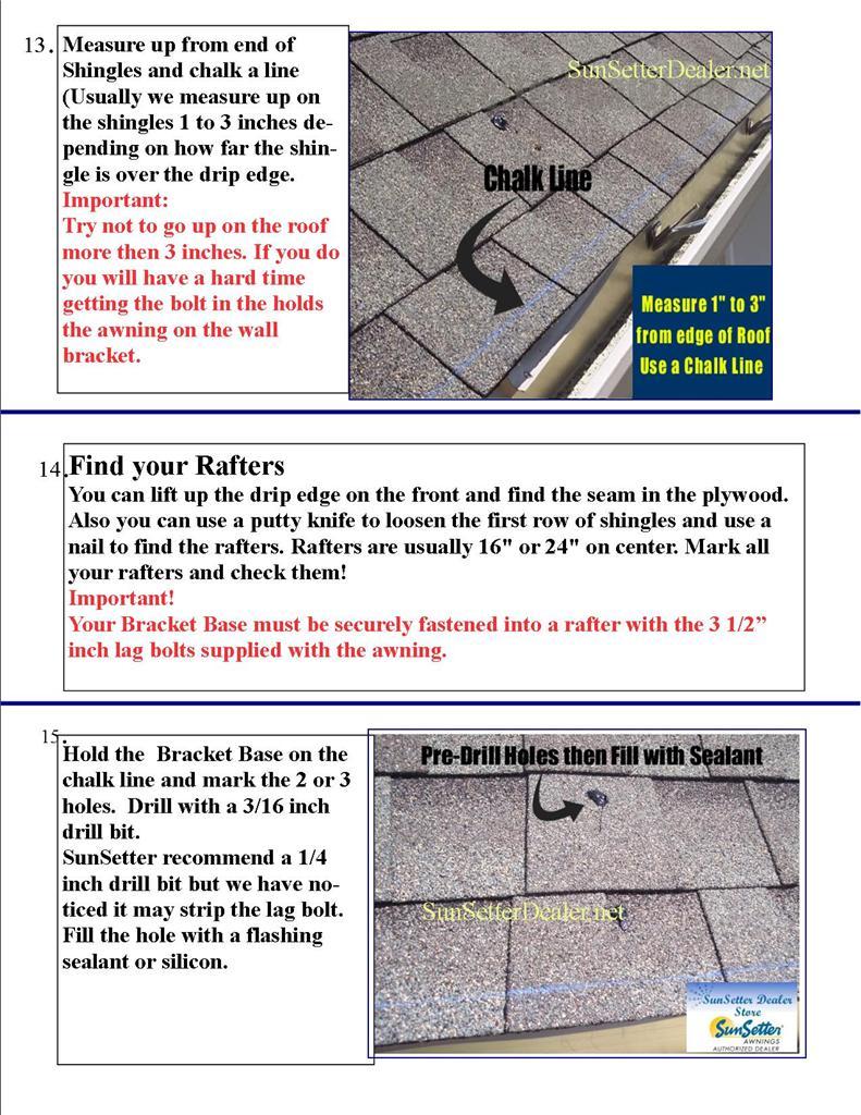 Installing Roof Brackets
