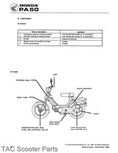 57043630_tp honda pa50 hobbit moped shop manual 1978 honda pa50 wiring diagram at gsmx.co