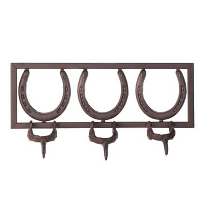 Western Decor Wall Hooks : Horseshoe spurs coat hat clothes wall hanger hooks