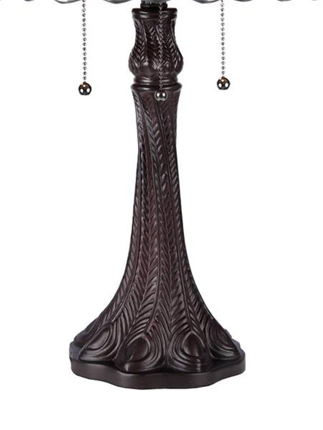 victorian tiffany style table lamp stained glass shade 17 7 3331ga18. Black Bedroom Furniture Sets. Home Design Ideas