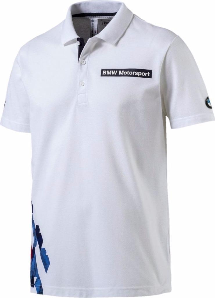 new puma bmw motorsport men 39 s team blue white cotton. Black Bedroom Furniture Sets. Home Design Ideas
